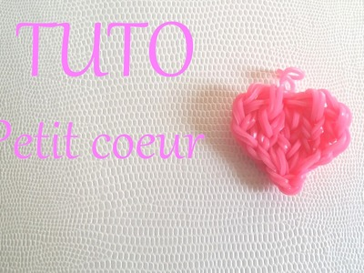 [ TUTO ]Petit cœur en élastique