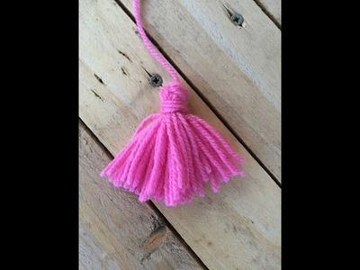 Tutoriel Pompons à franges. borlas en lana