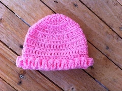 Bonnet bébé crochet wiggly crochet. gorrito bebe crochet