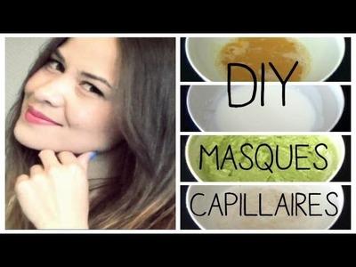 DIY │4 Masques Capillaires Maison ▵ Alyssia