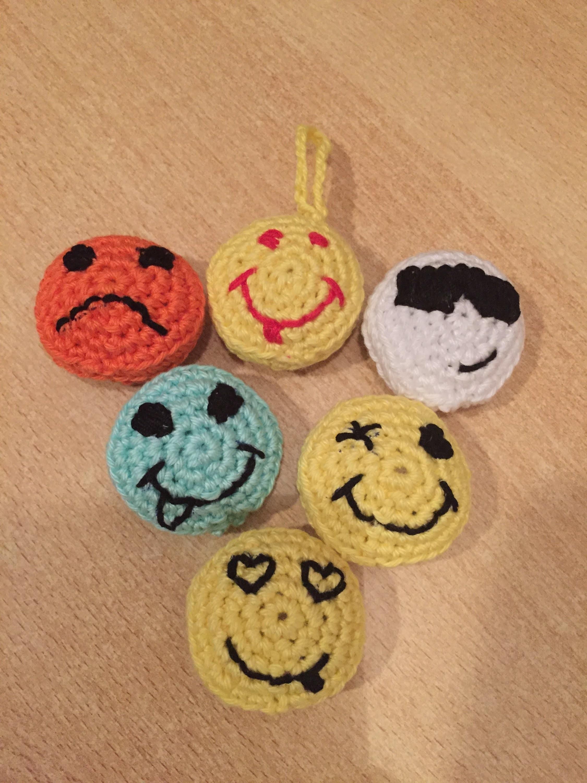 Tuto Smiley crochet
