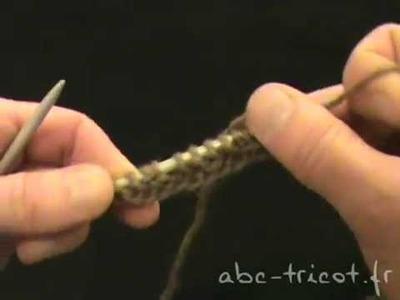 [Tricot] Tisser le fil au lieu de le rentrer