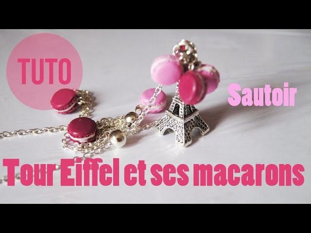 [TUTO] - How to make macaron - Sautoir Tour Eiffel