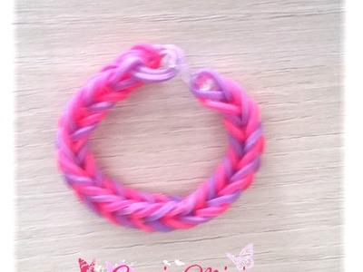 [ tuto ] bracelet elastique simple avec planche