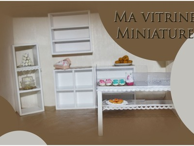 ✐Vitrine miniature.Bakery part 1✐