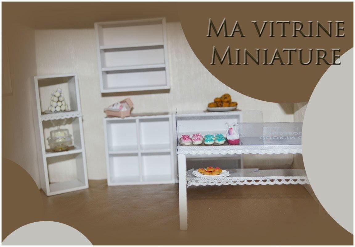 vitrine miniature bakery part 1. Black Bedroom Furniture Sets. Home Design Ideas