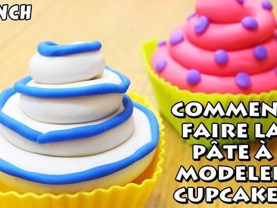 Comment faire la pâte à modeler Cupcakes