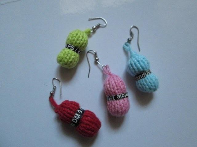 diy tuto apprendre a tricoter des boucles doreilles. Black Bedroom Furniture Sets. Home Design Ideas