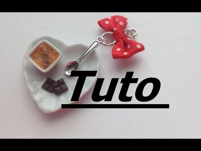 Tuto Fimo - Crème brûlée