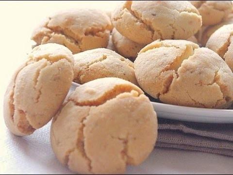 """Recette de Ghriba """"Bahla""""   Moroccan traditional cookies recipe"""