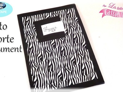{ Tuto } Porte document en IT'z Duct Tape