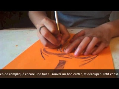 Tutoriel Stencil masque Anonymous