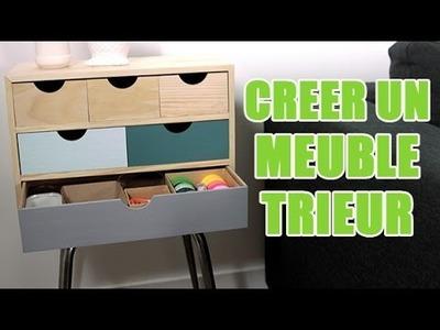 Tuto DIY : Réaliser un meuble de rangement customisé avec youMAKEfashion