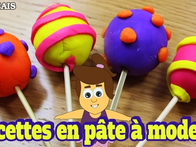 Comment Faire Des Sucettes en Pâte à Modeler | How to Make Pretty Play Doh Lollipops | DIY Français