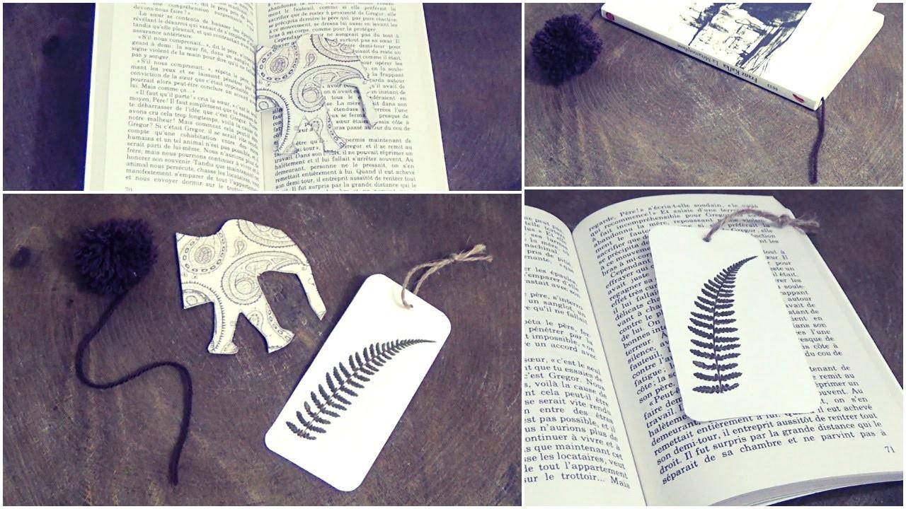 DIY│3 Marque pages ▵ Alyssia