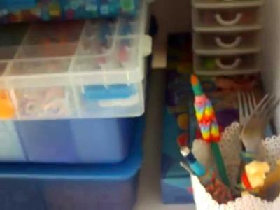 (BONUS)  mon rangement rainbow loom