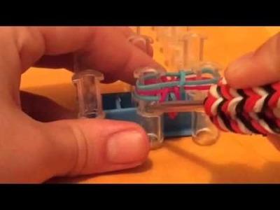 Comment faire un bracelet en élastiques  - fishtail