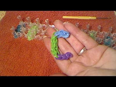 Rainbow loom francais lettre c ( loom band )