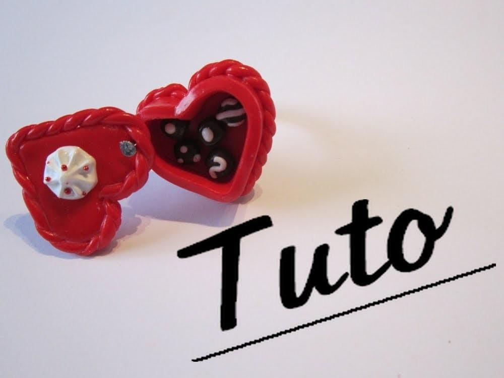 Tuto Fimo - La boîte de chocolat