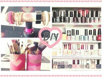 ♡ DIY | Rangement | Vernis, Pinceaux & Bijoux