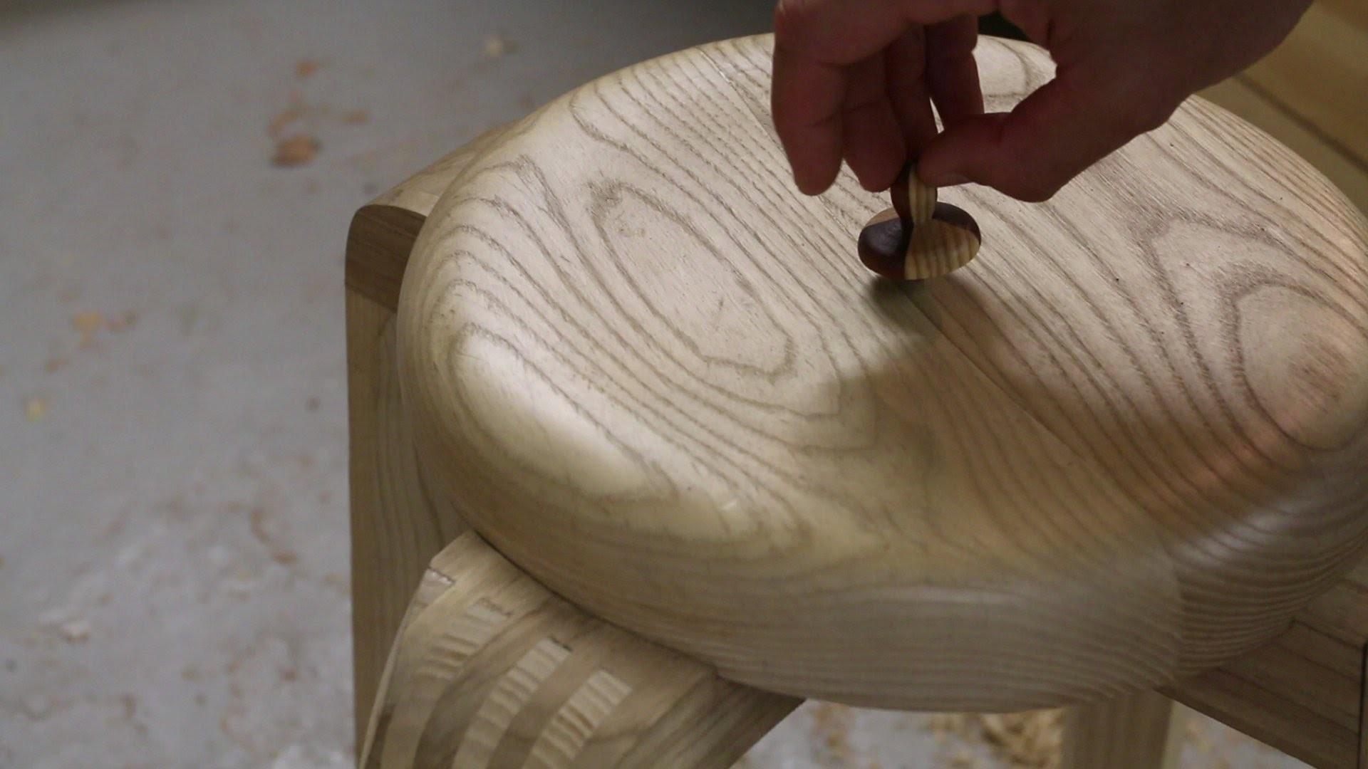 Finition du bois - Imprégnation sous vide avec de l'huile de lin