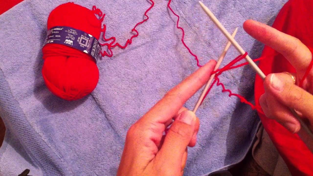 Tricoter des mailles - Leçon de tricot
