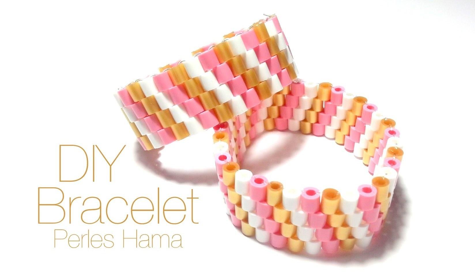 Comment faire un bracelet avec des perles à repasser Hama
