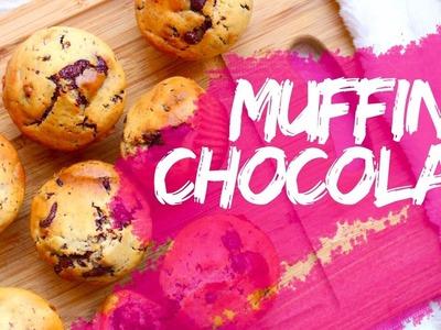 Recette Muffins Pépites Chocolat │PerfectHonesty