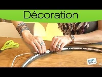 Comment réaliser une lampe design ?