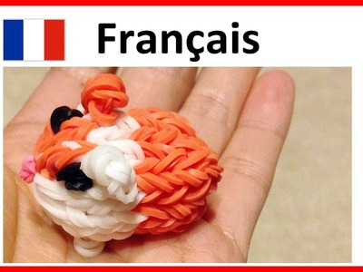 Rainbow Loom. Francais    Tuto Bracelet Elastique - Hamster. loom bands