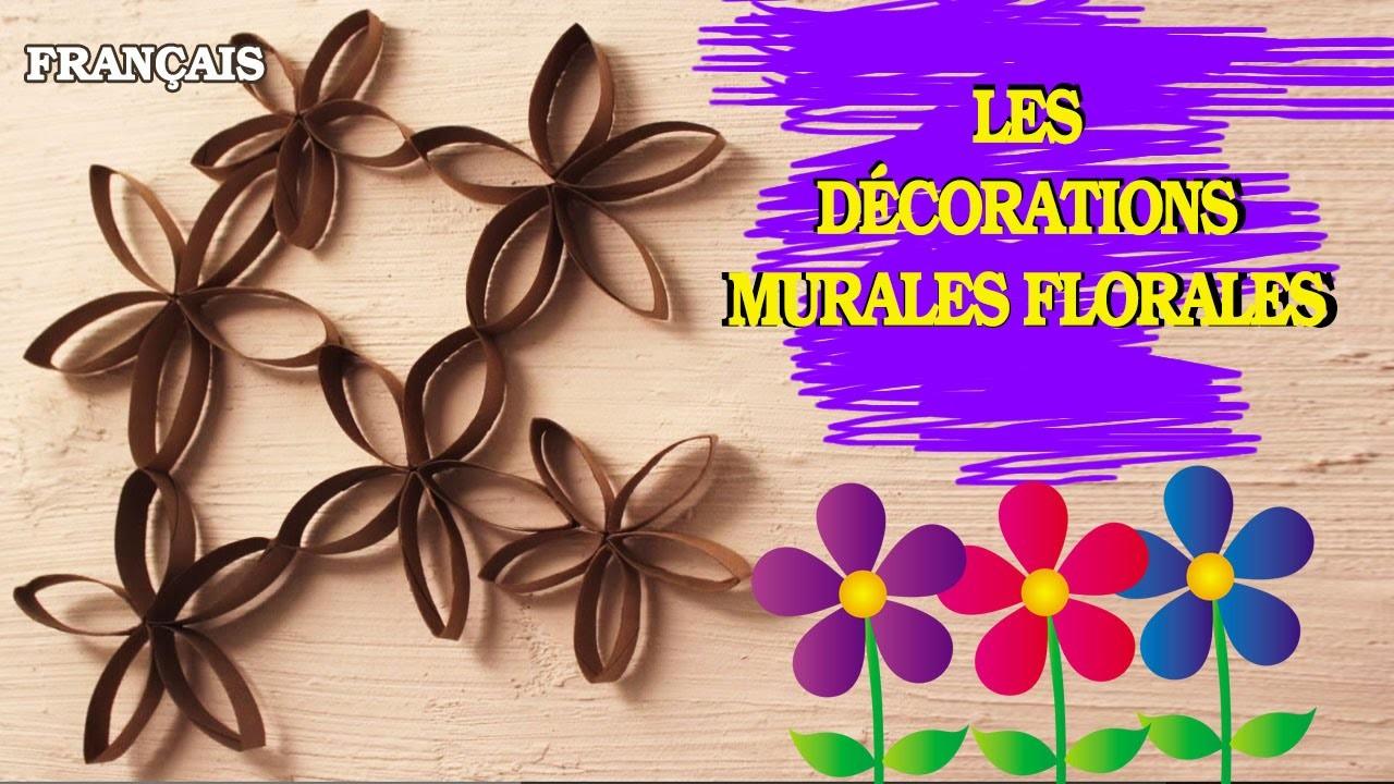 Comment Faire Facile et Rapide: French How To Flower Wall Art | Les décorations murales florales