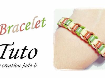Tuto Rainbow Loom - Bracelet de Perles à repasser !
