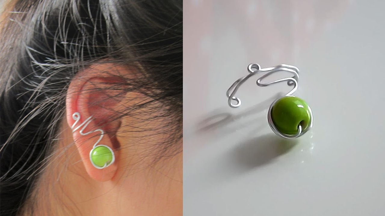 TUTORIEL - D.I.Y. : Easy ear cuff - Une simple bague d'oreille #2