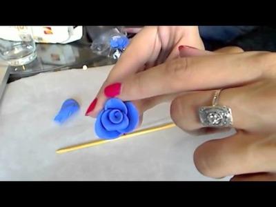 Tuto Fimo : réaliser une rose, simple et rapide