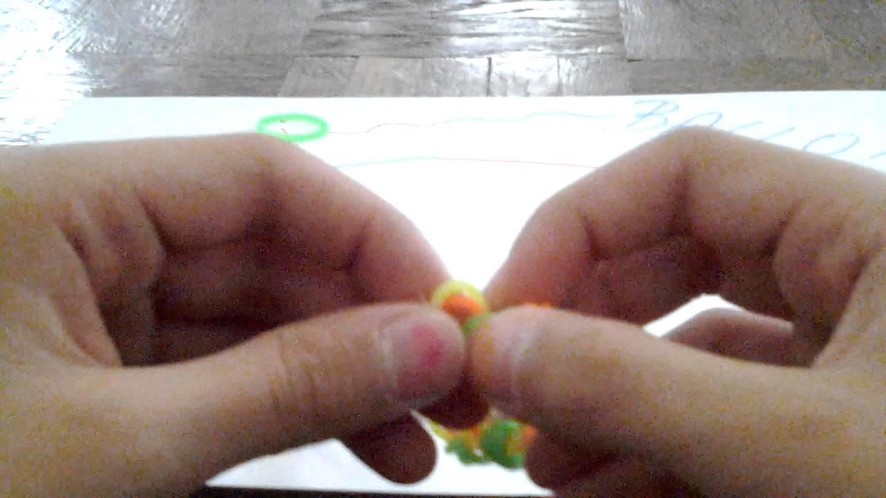 Comment faire une fleur décorative en élastique