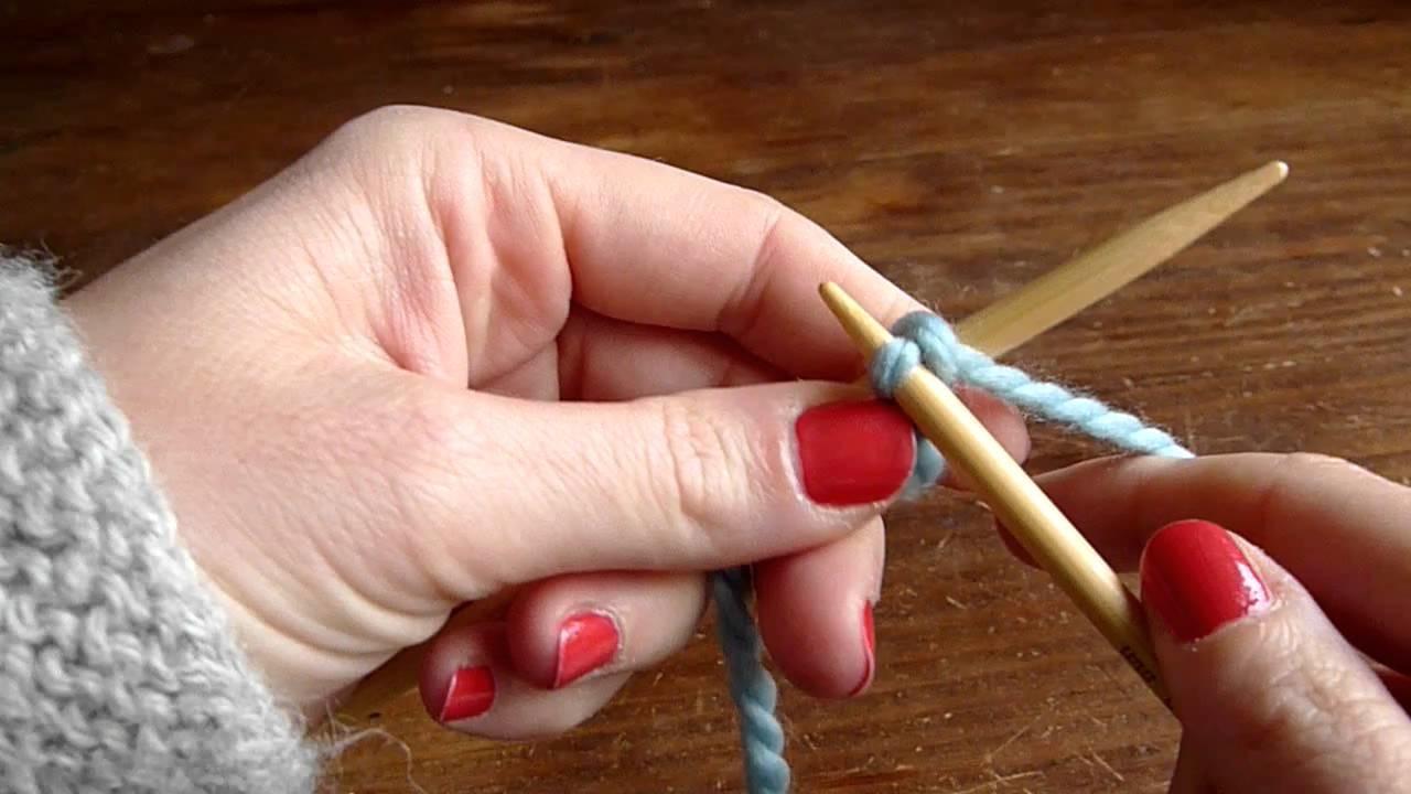 Monter souplement des mailles (adapté aux châles, et à la dentelle au tricot)