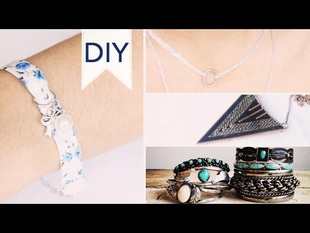 DIY | Bijoux (bracelet liberty, collier. )
