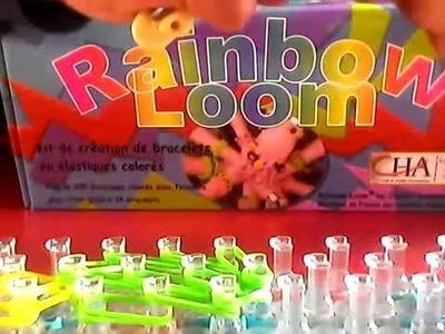 Rainbow loom - Tortue - en francais -