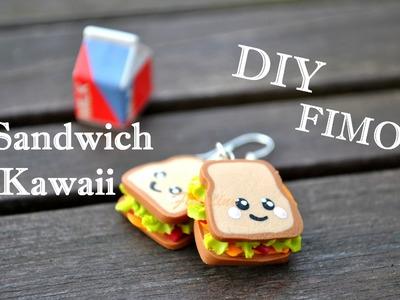 Tuto Fimo: Le sandwich kawaii ! :)