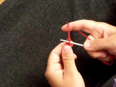 apprendre tricoter monter des mailles. Black Bedroom Furniture Sets. Home Design Ideas
