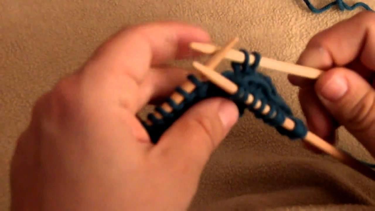 apprendre tricoter torsade 4 mailles crois es vers la. Black Bedroom Furniture Sets. Home Design Ideas