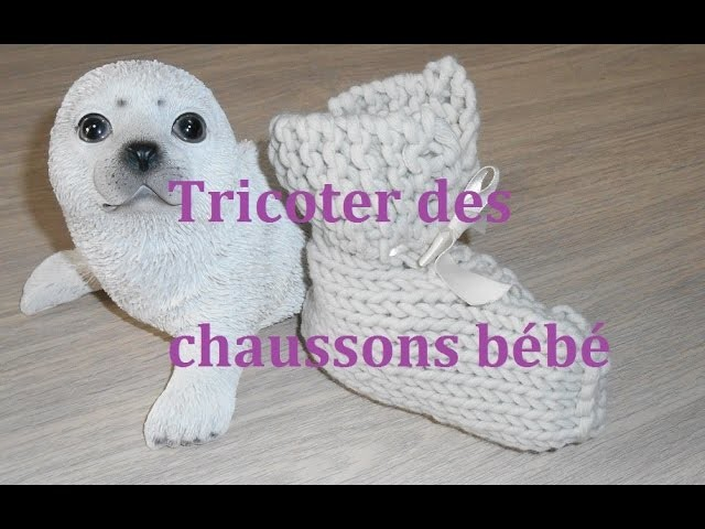 Tricoter des chaussons bébé facile et rapide