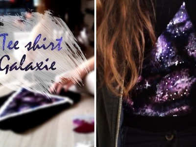 DIY | Faire un tee shirt galaxie