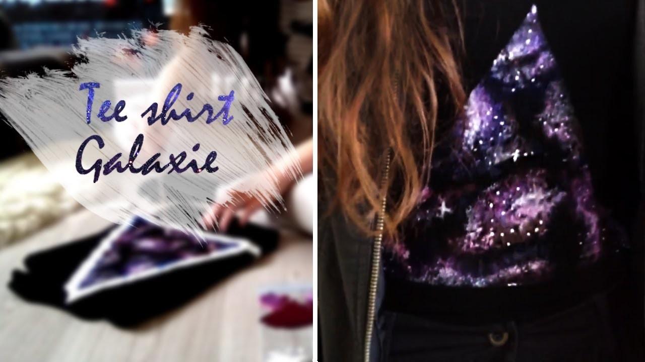 DIY | Faire un tee shirt galaxie