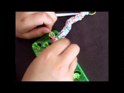 [Kit Loom] Bracelet chevrons avec perles hama