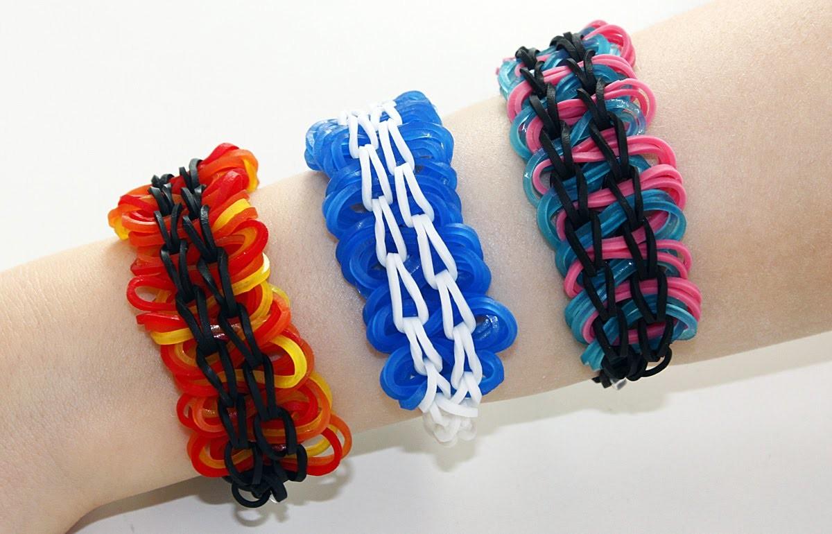 TUTO EXCLUSIF : bracelet élastiques entrelacés - Rainbow Loom (en Français)