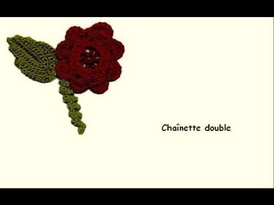 Le crochet - Perfectionnement - La chainette double