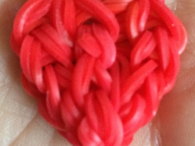Loom #5 Coeur Charm (en français)(Rainbow Craz Loom)