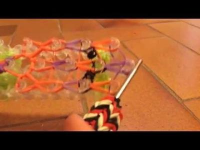 Comment faire un serpent en élastiques - tuto