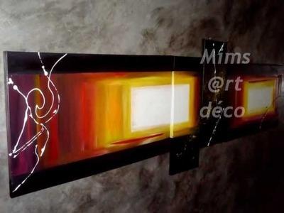 Tableaux abstraits Mimsartdeco